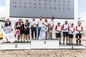 Veit + Teresa Hemmeter, Fabian Gielen und Martin Hostenkamp auf Platz 1. Foto Oliver Maier