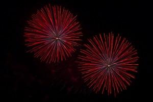 Feuerwerk- Silvester